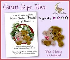 DETERGENTE PER PIPA Craft BOOK COME FARE IN MINIATURA Bear & Bunny Doll House OOAK