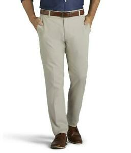 Lee Extreme Comfort Pants Relaxed Performance Series Extreme Stretch Dove Beige