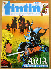 BD Comics Magazine Hebdo Journal Tintin No 51 40e 1985 Aria