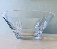 """Cristal D'Arques-Durand Luminarc Glass Clear Arizona 10 1/4"""" Serving Bowl Art De"""