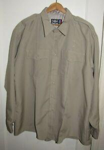 The Command Shirt by Flying Cross Men Uniform Button Long/sl Epaulets khaki 18.5