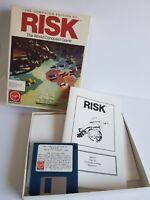 Risk 1989 IBM Computer Floppy Disk Game Virgin Games Vintage