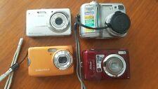 Digital Cameras Lot of 4 - Nikon CoolPix, Kodak, working condition
