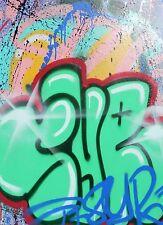 Série limitée 50 ex. - 21x29.7 cm - Signé et numéroté - STREET ART GRAFFITI TAG