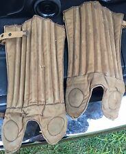 Draper & Maynard Vintage Antique Football Shin Guards 1915