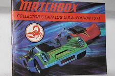 Matchbox Superfast Toys, 1971 Collectors Catalog, Original