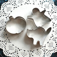 3Pcs Mold Biscuit Fondant Mould Cookie Cutter Cake Pastry Halloween Gost