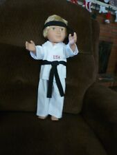"Kung Fu set for 18"" dolls"