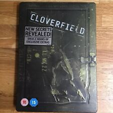 CLOVERFIELD STEELBOOK DVD  2 DISC SET