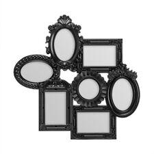 Premier Housewares 55x3x55cm 7 Decorative Photo Multi Frame Black Detail