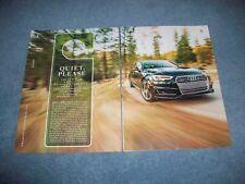 "2017 Audi A4 2.0T Quattro Road Test Info Article ""Quite, Please"""