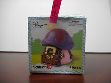 SCHLEICH PINK PURPLE COTTAGE SMURF HOUSE 49014 PEYO CREATIONS MUSHROOM HOUSE FF7