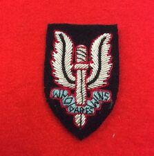 SAS Beret Badge Bullion Wire Special Air Service Badge