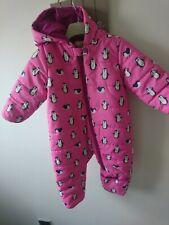 Hatley baby girl snowsuit 12-18 months excellent condition