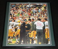 Vince Lombardi Framed 12x12 Poster Photo Packers Super Bowl II