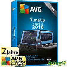AVG TuneUp 2018 - UNBEGRENZT | Alle PC/Geräte | TuneUp Utilities 2 Jahre DE 2017