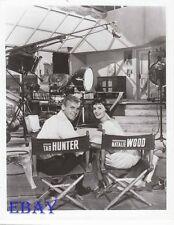 Tab Hunter Natalie Wood RARE Photo Girl He Left Behind candid on set