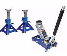 1.5 Ton Compact Aluminum Racing Floor Jack W/ Rapid Pump® W/ Alum Jack Stands