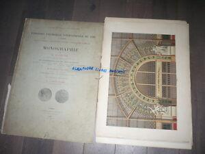 TRES GRAND ALBUM COULEURS ALPHAND EXPOSITION UNIVERSELLE 1889