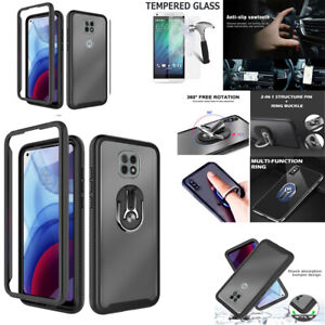 "Phone Case For Moto G Power 2021 (6.6"") Shock Proof Heavy Duty Bumper Cover"