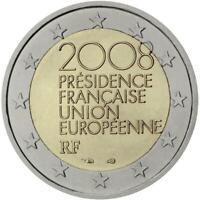 2 euro Francia 2008 Presidenza Francese