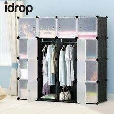 idrop 16 Cubes Wardrobe cabinet with Two Hangers