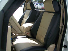 LINCOLN NAVIGATOR 2007-2014 IGGEE S.LEATHER CUSTOM SEAT COVER 13COLORS AVAILABLE