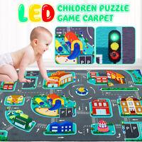 "39""x30"" LED Baby Kids Play Mat Floor Children Activity Soft Toy Crawl"