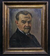 František Zdeněk EBERL (1887-1962) AUTOPORTRAIT tchèque Picasso Modigliani