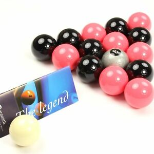 EXCLUSIVE! Aramith Premier SILVER 8 BALL Edition PINK and BLACK Pool Balls