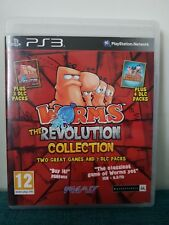 Worms The Revolution Collection PS3 PAL Fast Free Dispatch Birthday Complete