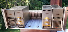 WSW 811 350b tube preamp pair with Rated PSU and original rack Decca Fame