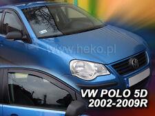 HEKO Windabweiser VW POLO 9N 5türer ab 2002 2teilig 31138