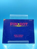 jeu video notice BE nintendo nes pin bot NES-IO-FAH