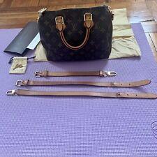 LOUIS VUITTON Monogram Bandouliere Speedy 25 Shoulder Crossbody Bag