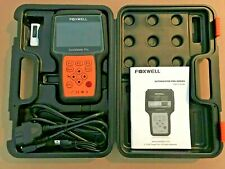 Foxwell Nt624 AutoMaster Pro All Systems Scanner ABS SRS TRANS OIL EPB Live Data