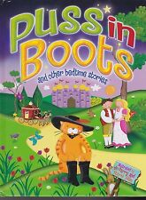 Brand New 2 books Goldilocks Three Bears & Puss In Boots & other Bedtime stories