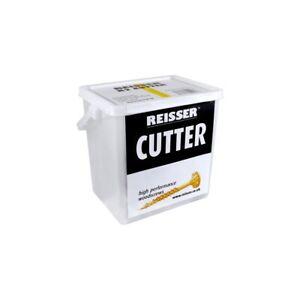 Reisser R2 Cutter Wood Timber Screws Buckets Various Sizes + 2 PZ2 Driver Bits