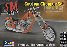 Revell motorcycle toy models kits ebay revell 85 7324 1 12 rm kustom custom chopper set solutioingenieria Images