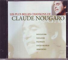 CLAUDE NOUGARO - Les plus belles chansons de - Warner CD 1995