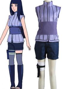 Naruto The movie The Last Hinata Hyuga Cosplay Costume Ninja Uniform Anime