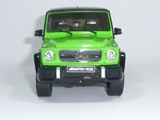 MERCEDES-BENZ G 63 G63 AMG W463 ALIENGREEN CRAZY COLOUR 1:18 GT-SPIRIT DEALER