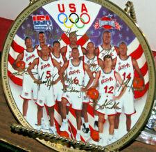 1996 Sports Impression USA Olympic Basketball Dream Team First Ten Chosen Plate