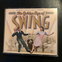 READER'S DIGEST MUSIC The Golden Age Of Swing Various Artists 4 CD BOX SET