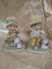 Homco vintage Boy And Girl Figurines