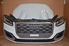 Audi Q2 81A S-Line 2,0 TDI Front Stoßstange Motorhaube Scheinwerfer LED Weiß