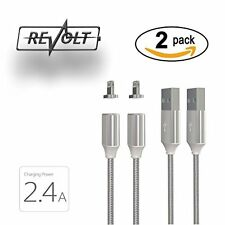 Original Magnetic Lightning Cable For Apple Iphone 7 & Ipad/2.4A Fast Charge Rev