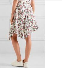 BNWT 100% Auth Isabel Marant, Rachel Asymmetric SILK Skirt. 36