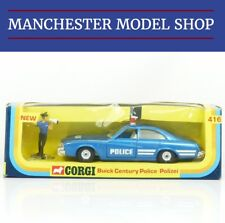 Corgi Toys 416 Buick Century Police Car & figure VINTAGE SHOP STOCK BOXED