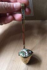 Vintage 916 Sterling Silver Gilt Russian Leningrad Tea Strainer